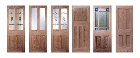 Pitch Pine Doors Unfinished