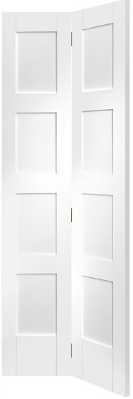 White shaker 4 panel door interior doors doors galore - Shaker bifold closet doors ...