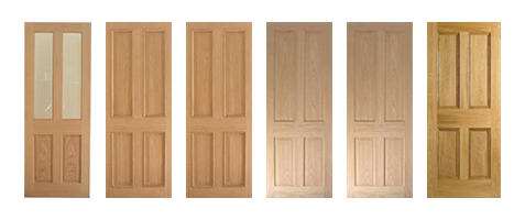 Oak Traditional Doors Finished