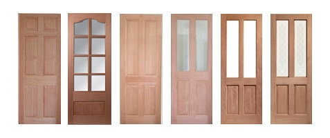 Clearance Hardwood Doors