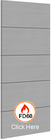 Light Grey Ash with Horizontal Inlays - ...