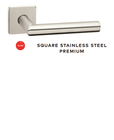 Square Stainless Steel Premium Handle - WK