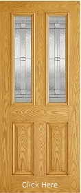 Malton Oak - Leaded Double Glazed - Comp...