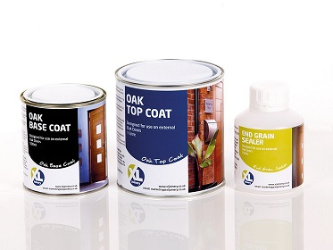 Oak External Door Finishing Kit - X