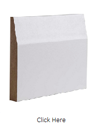 White Primed Half Splayed Skirting Pack - DE