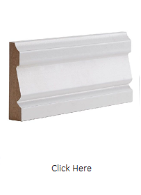 White Primed Ulysses Architrave Set - DE