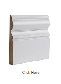 White Primed Victoriana Skirting Pack - ...