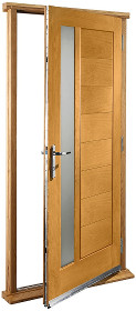 Oak Modena Glazed Doorset