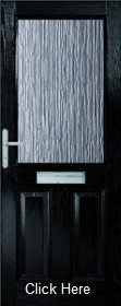 Black 2XG Composite Doorset with Obscure...