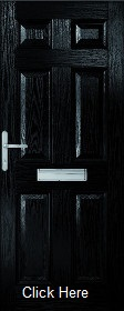 Black Colonial Composite Doorset - XL