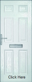 White Colonial Composite Doorset - XL