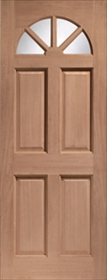 Hardwood Carolina 4 Panel - Unglazed - D...