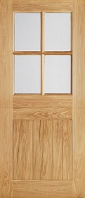 Oak Cottage Stable 4L - Clear Double Gla...