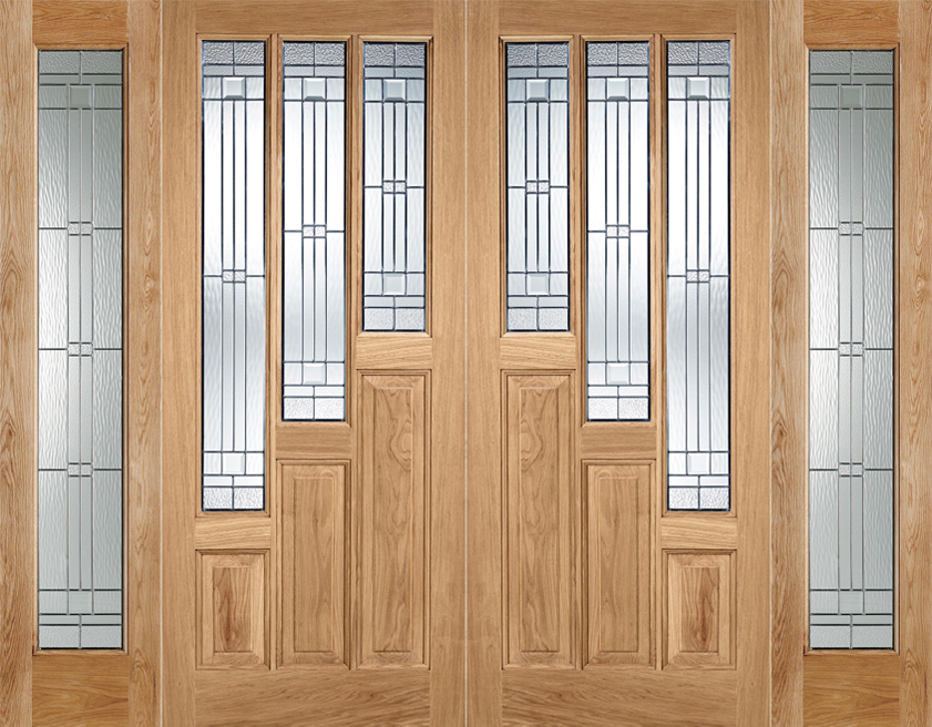 Home; u003e; Door Pairs; u003e; External Oak Pairs & Oak Coventry Pair Door | Interior Doors | Doors Galore