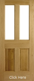 Oak Malton Unglazed (No Glass) - Unfinis...
