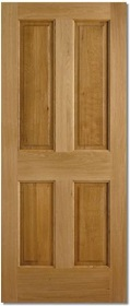 Hardwood Colonial 4 Panel - M&T - LP