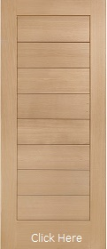 Oak Modena External Door - Unfinished - XL