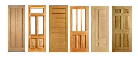 Oak Engineered Solid, and Unglazed Doors Unfinished
