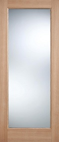 Oak Pattern 10 - Clear Double Glazed -  Warmer Doors Part L Compliant  - LP