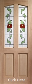 Hardwood Richmond Door with Keats Toughe...