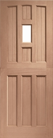 Hardwood Stable 1 Light - Unglazed - Dow...