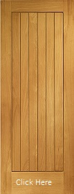 Oak Suffolk Door - Pre Finished - M&T - ...
