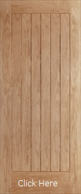 Oak Suffolk External Door - Unfinished - XL