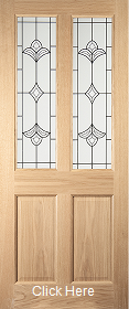 Oak Woodhouse Glazed - JW