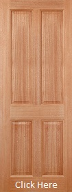 Hardwood Colonial 4 Panel - M&T - LPD
