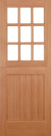 Hardwood Stable 9 Light Square Top - Ung...