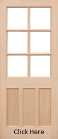 Hemlock KXT 6 Light - Unglazed (No Glass...