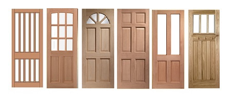 Hardwood Solid, and Unglazed Doors