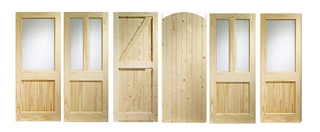 Softwood Engineered External Doors