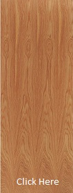 Hardwood Unlipped Timber Door Blank - 44mm - LPD