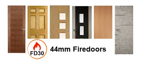 44mm Internal Fire Doors FD30