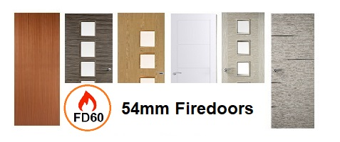 54mm Internal Fire Doors FD60