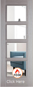 Light Grey Vancouver with Clear Glass - ...
