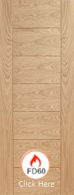 Oak Palermo Original Fire Door - FD60 - ...
