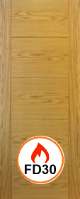 Oak Trend Solid - Channel Groove - Pre F...