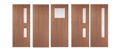 44mm & 54mm Paint Grade Fire Doors and Solid Engineered Timber Blanks