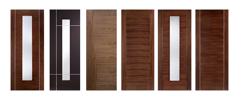 Walnut Prefinished Fire Doors FD30 44mm