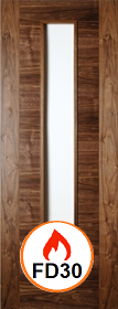 Walnut Seville - Unglazed - FD30 - 44mm - Pre Finished - DE