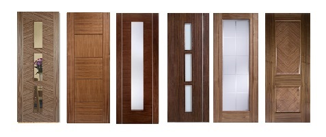 Walnut Firedoors FD60 54mm