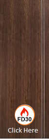 Walnut Sierra Door - Pre Finished - 44mm - FD30 - LPD