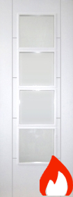 White Primed Trend 4L Clear Glazed - FD30 - DF