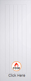 White Primed Mexicano - Solid Core - FD30 - 44mm - LP
