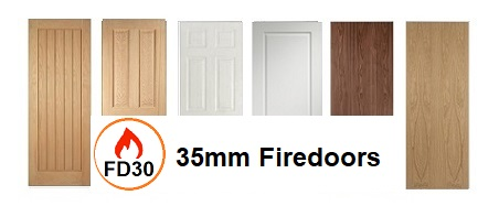 35mm Fire Doors FD30