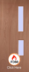 54mm - FD60 - Lipped Timber Blank O5 Cle...