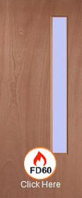 54mm - FD60 - Lipped Timber Blank O6 Cle...