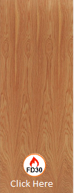 Hardwood Lipped Solid Engineered Timber Blank - FD30 - 44mm - LPD